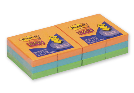 Z-блоки 3M Post-it, R330-6SSAN Super Sticky