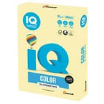 Бумага цветная IQ Color А3, 80г/м.кв., YE23-желтый, 500 л