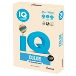 Бумага цветная IQ Color А3, 80г/м.кв., CR20 кремовый, 500 л