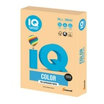 Бумага цветная IQ Color А4, 80 г/м.кв, 500 л. GO22 золотистый