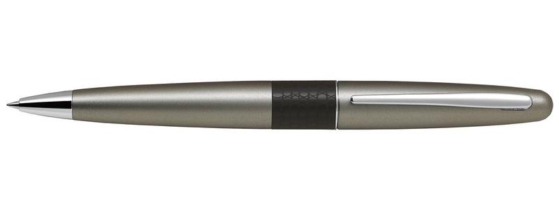 Ручка шариковая автоматическая с резиновой манжеткой синяя