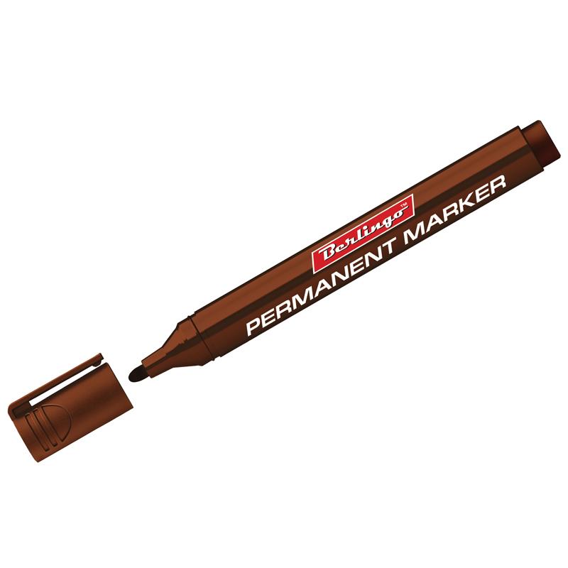 Перманентные маркеры коричневые